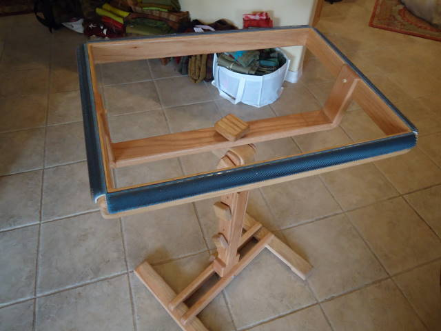 My Oak Hollow Productions Rug Frame